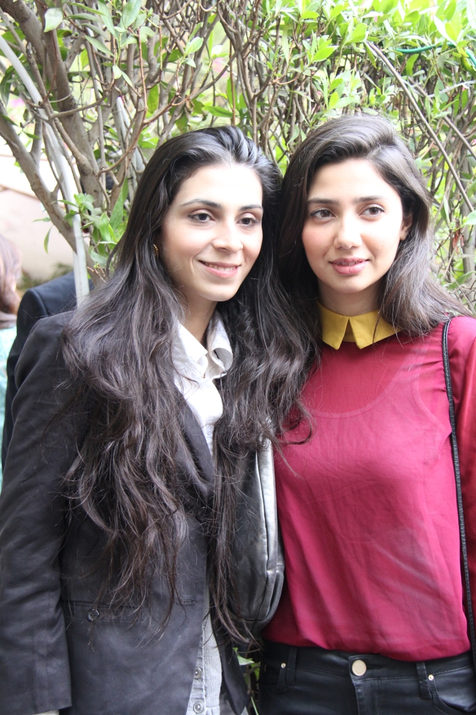 Feeha Jamshed and Mahira Khan