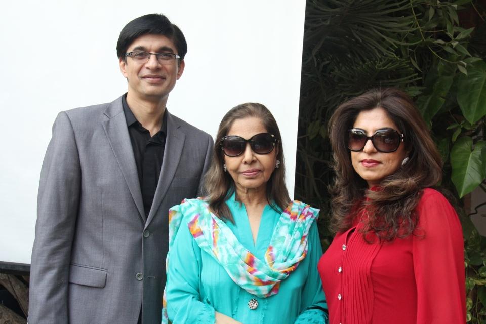 Junaid Qureshi, Sultana Hashwani, Sherezad Rahimtoola