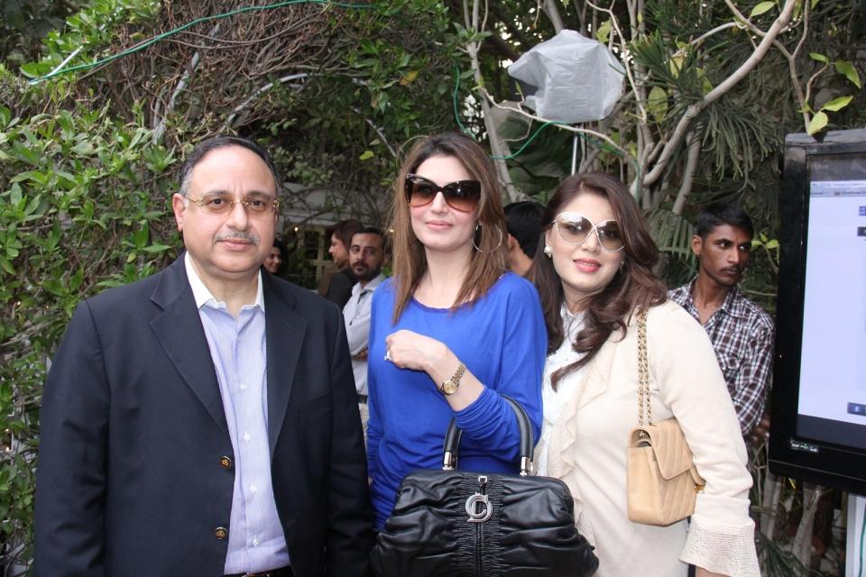 Zahir Rahimtoola, Sabahat Raja, Amrah Khan